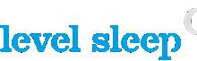 Level Sleep Logo - blue