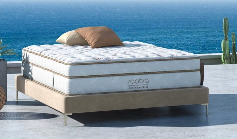 Saatva mattress product shot