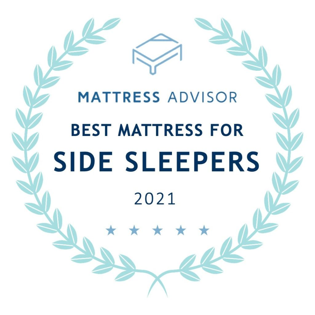 best mattress for side sleepers badge