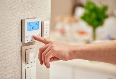 Home Energy Saving, Thermostat / temperature control