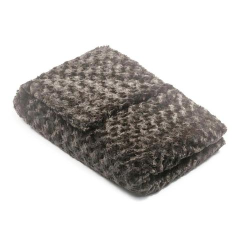 gray chenille Magic Weighted Blanket 36 1 large