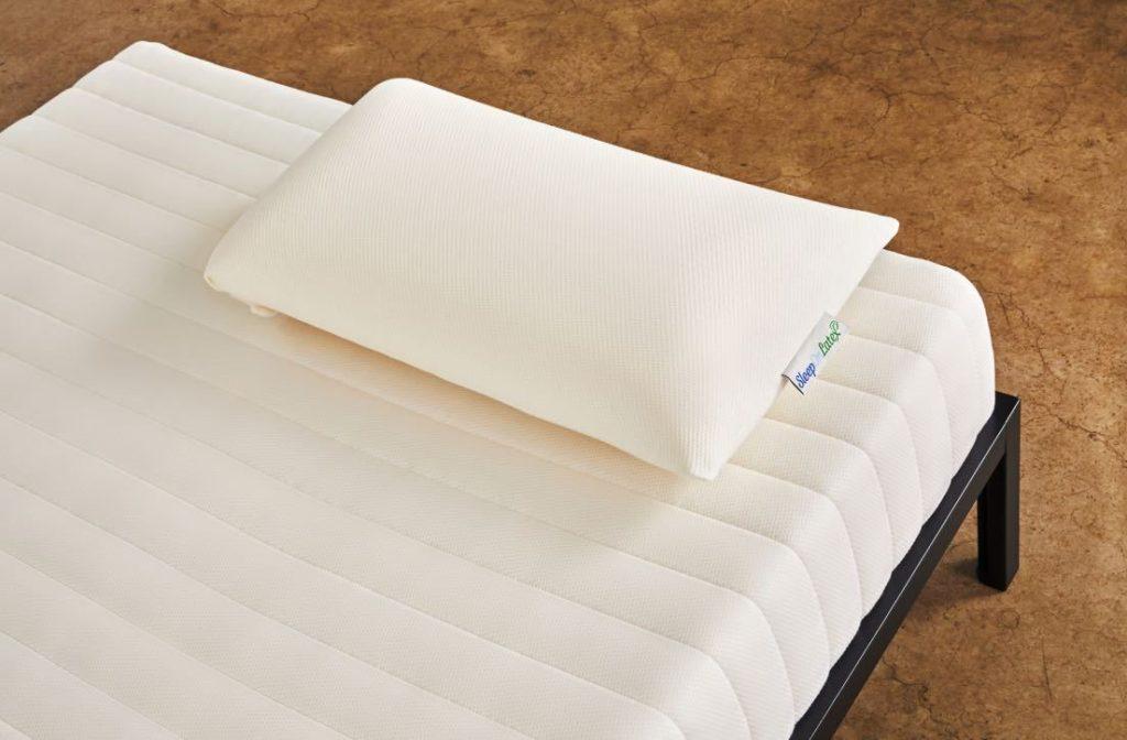 sleep on latex natural latex pillow