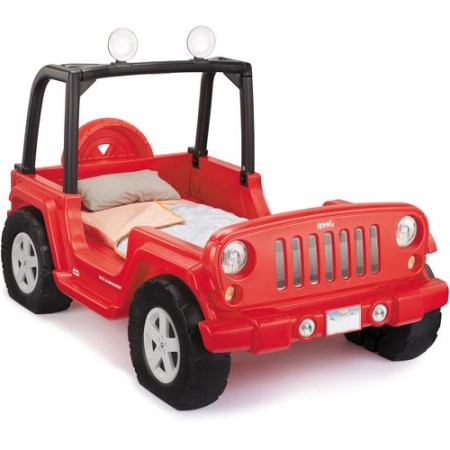 little tikes jeep convertible bed
