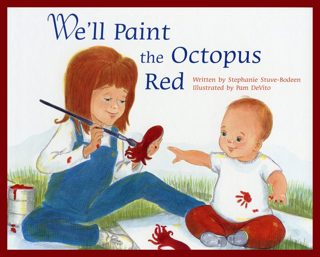 octopus red