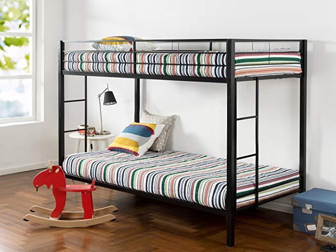 zinus bunk bed