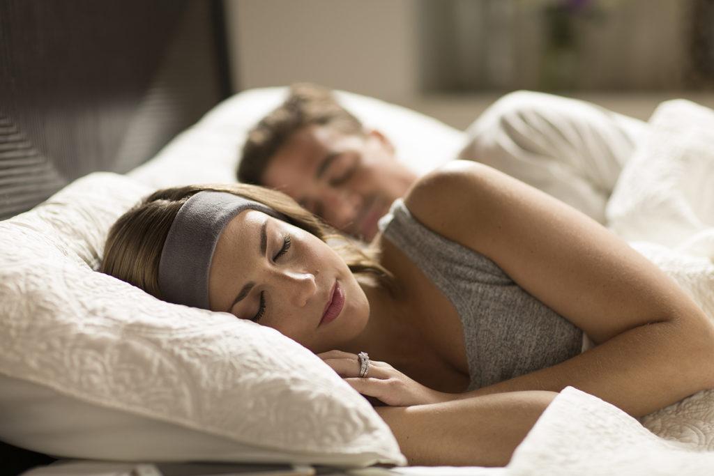 Couple Sleeping Gray