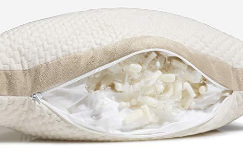 eli elm side sleeper pillow filling 1