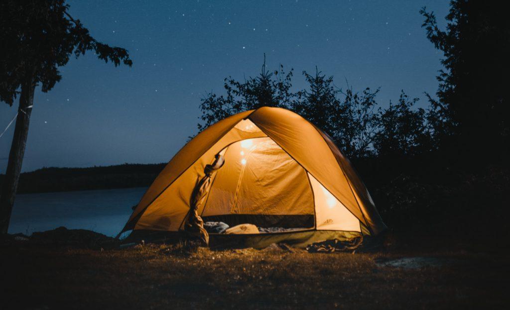 sleep while camping e1563800957541