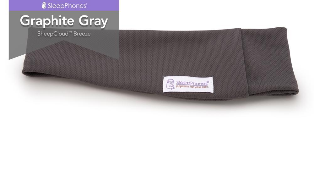 sleepphones graphite gray