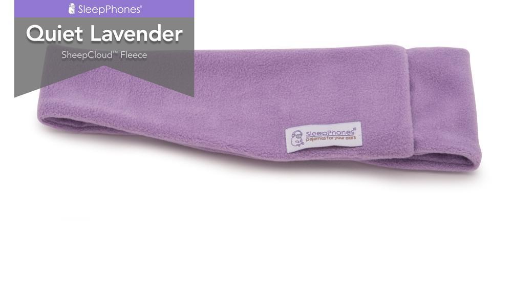 sleepphones quiet lavender
