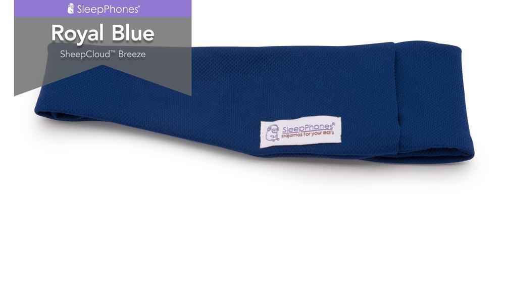 sleepphones royal blue