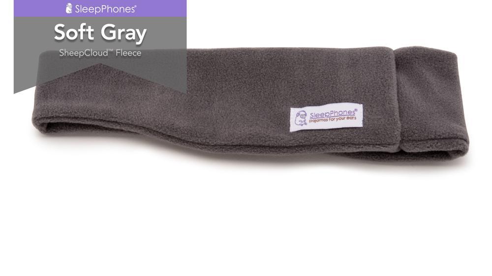 sleepphones soft gray