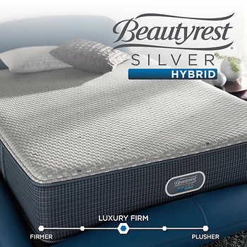 beautyrest merritt silver hybrid mattress