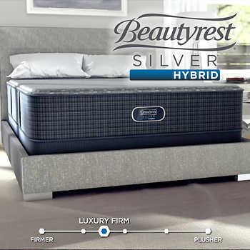 beautyrest romeo silver hybrid mattress