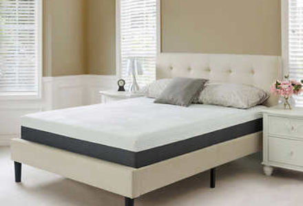 "Blackstone Elite 10"" gel-infused memory foam mattress"