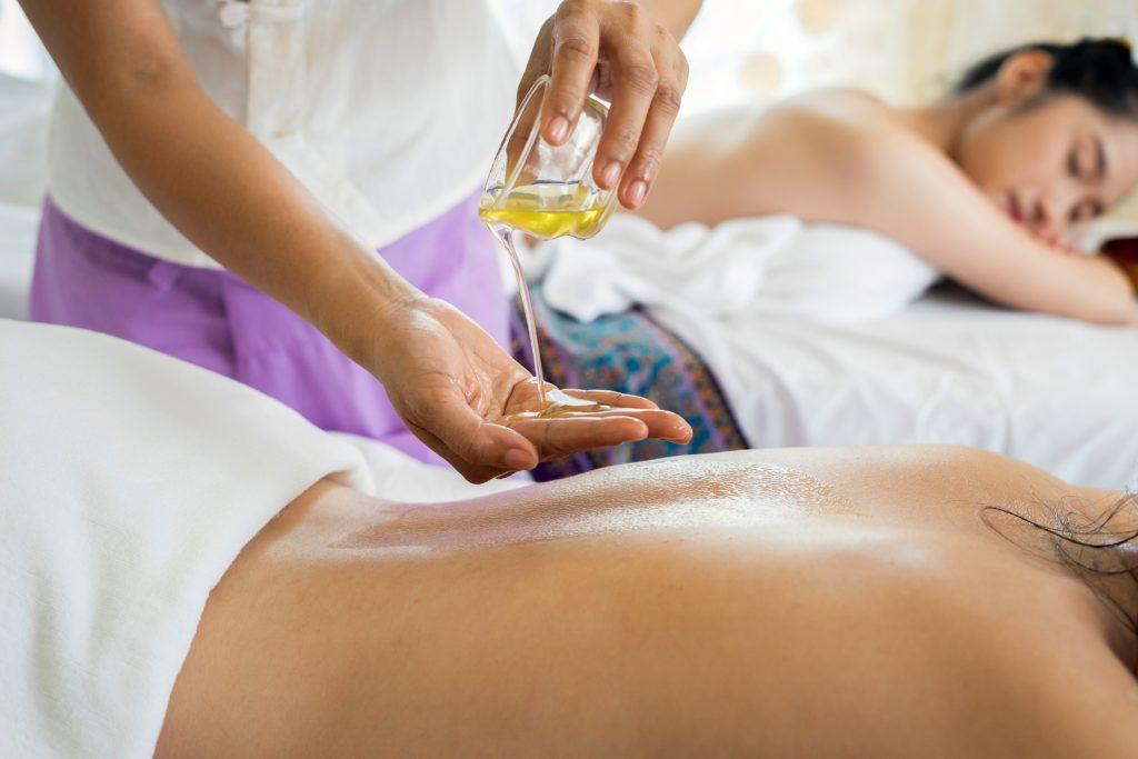 massage oil sleep