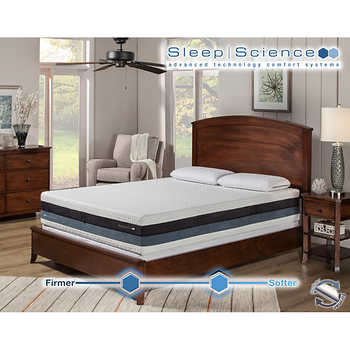 sleep science iflip sonoma mattress