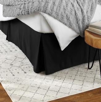 amazonbasics bed skirt