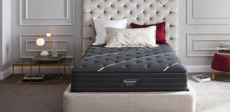 Beautyrest Black mattress in a bedroom