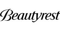 Beautyrest logo white