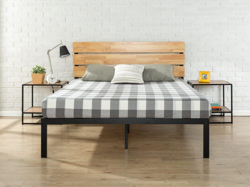 zinus paul bed frame