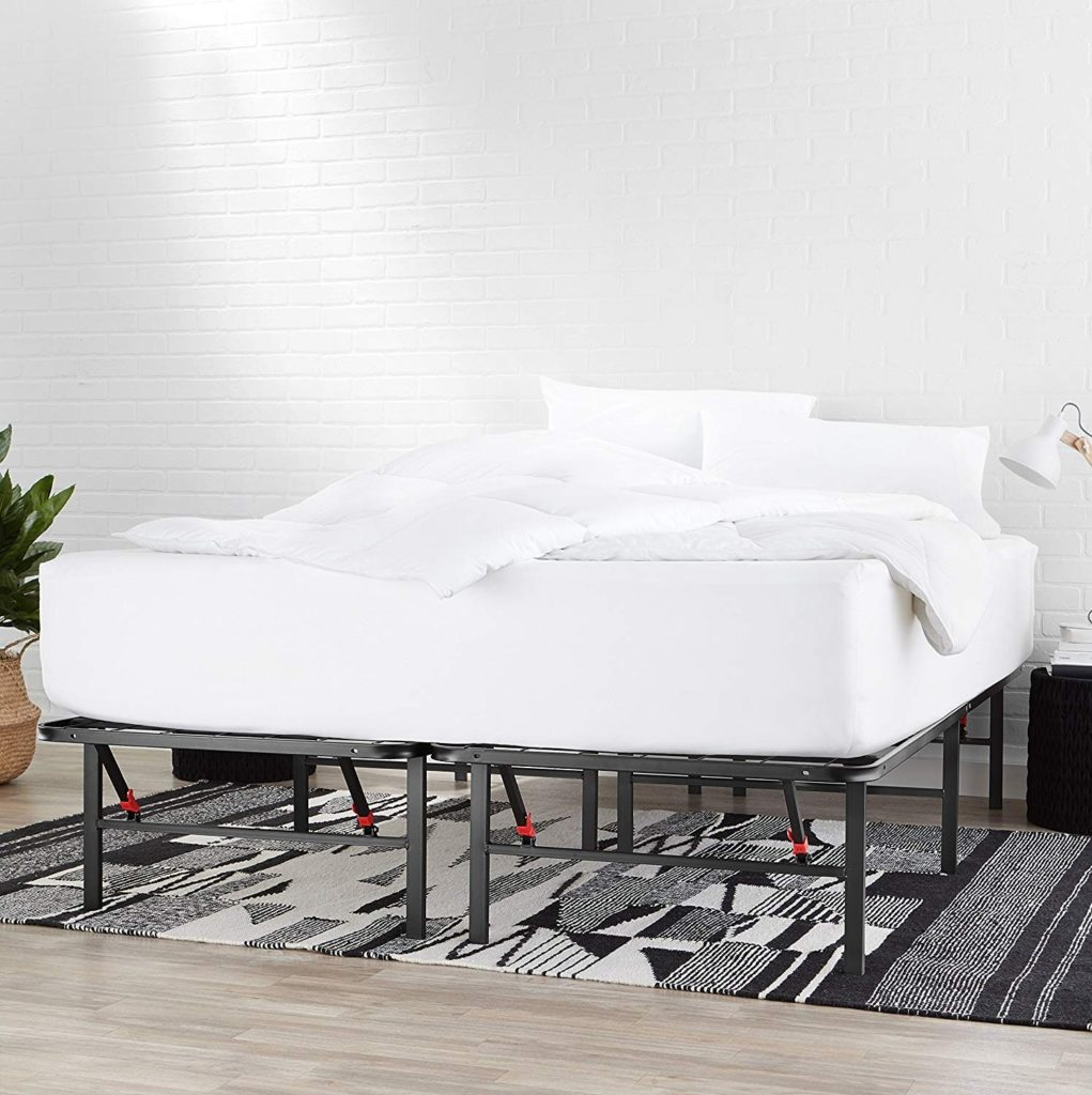 amazonbasics metal bed frame
