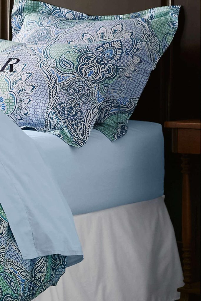 lands end supima percale