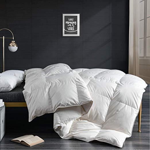 apsmile cotton down comforter