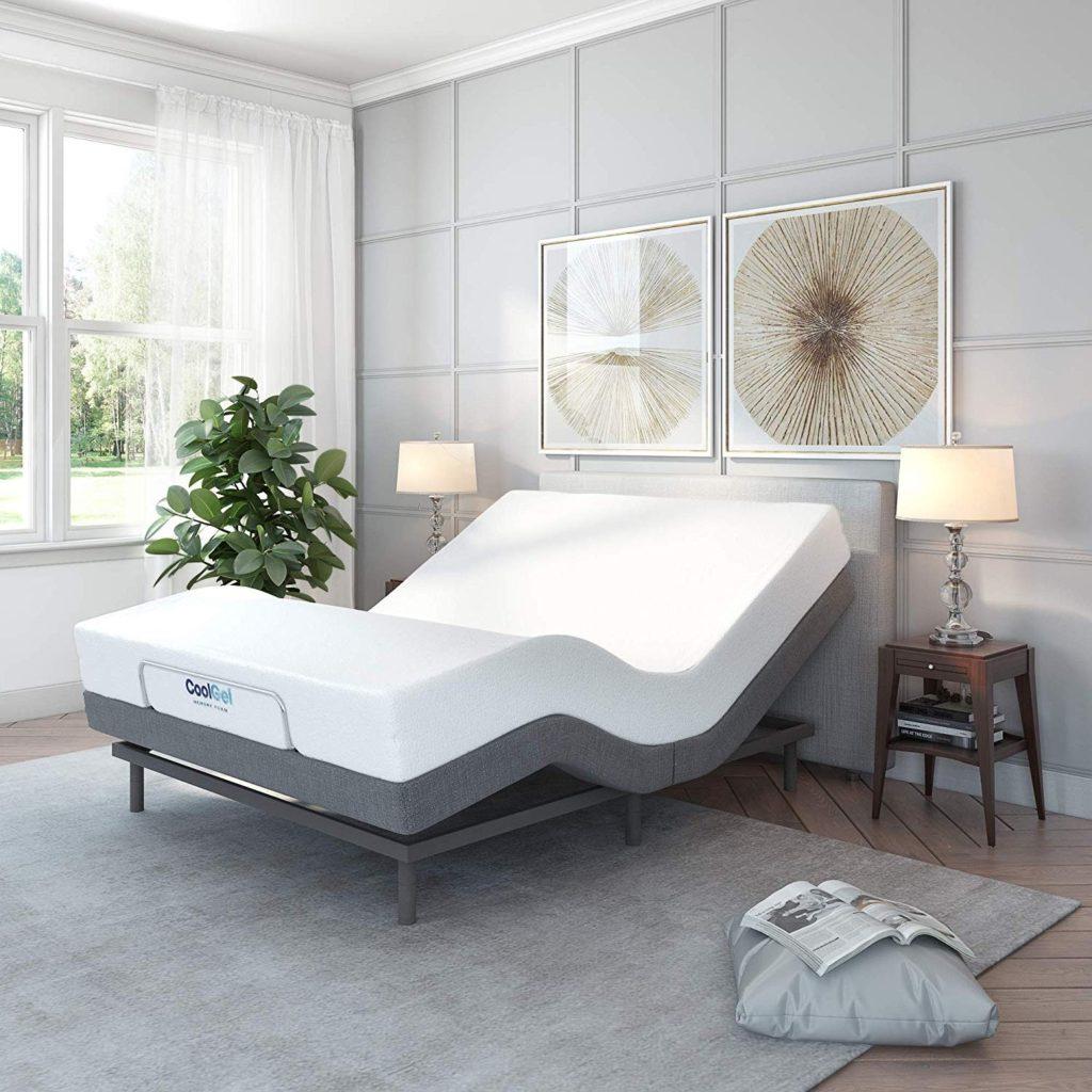 classic brands adjustable bed