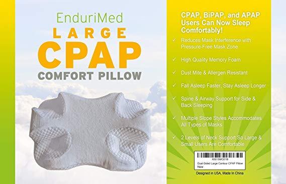 endurimed large cpap pillow