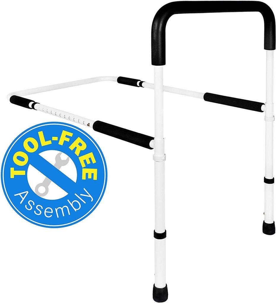 medical adjustable bed rails