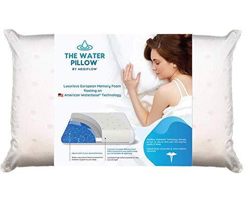 mediflow memory foam water pillow