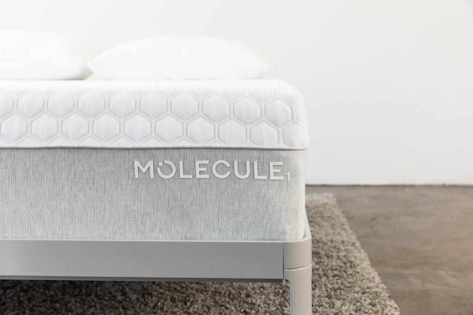 molecule mattress closeup