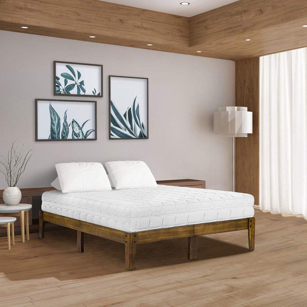 olee sleep wood bed frame