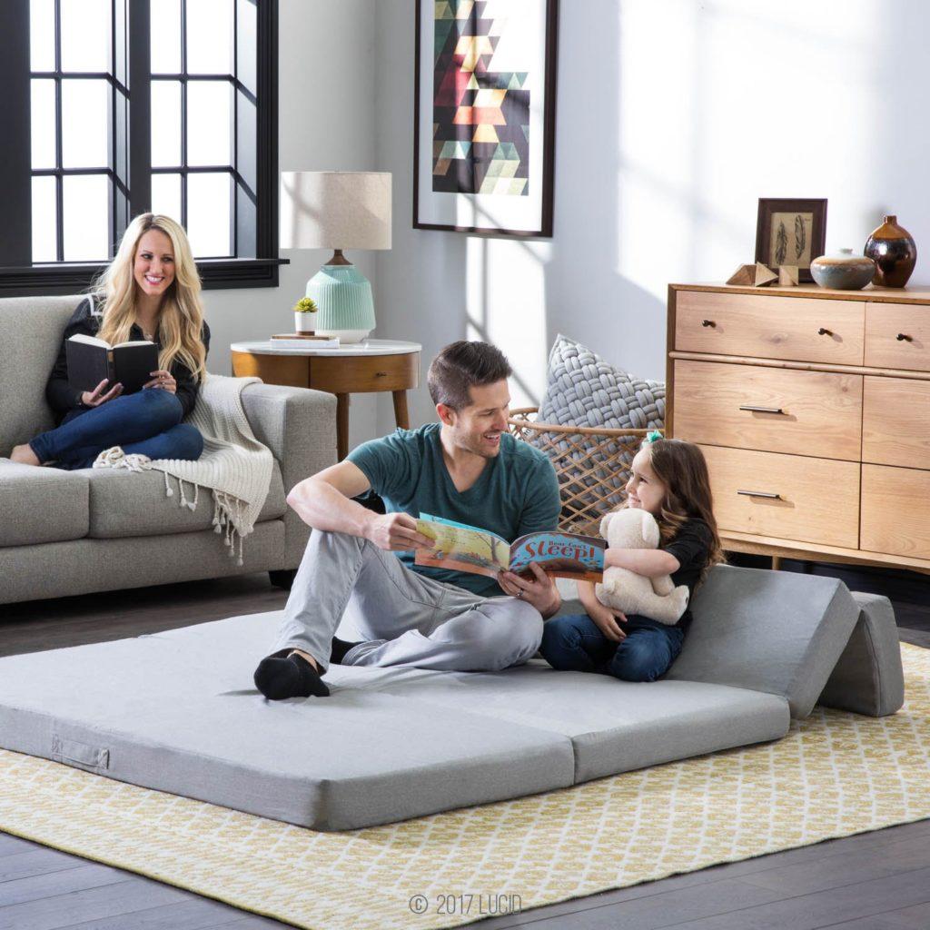 lucid floor mattress