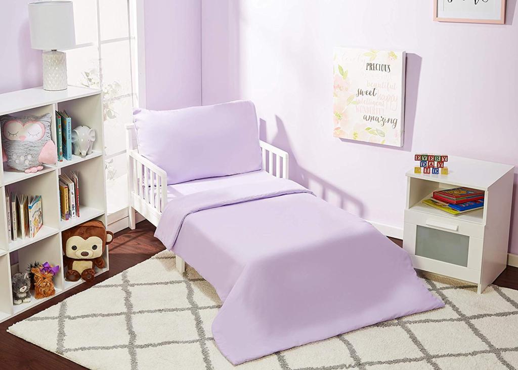 pink kids bedding set