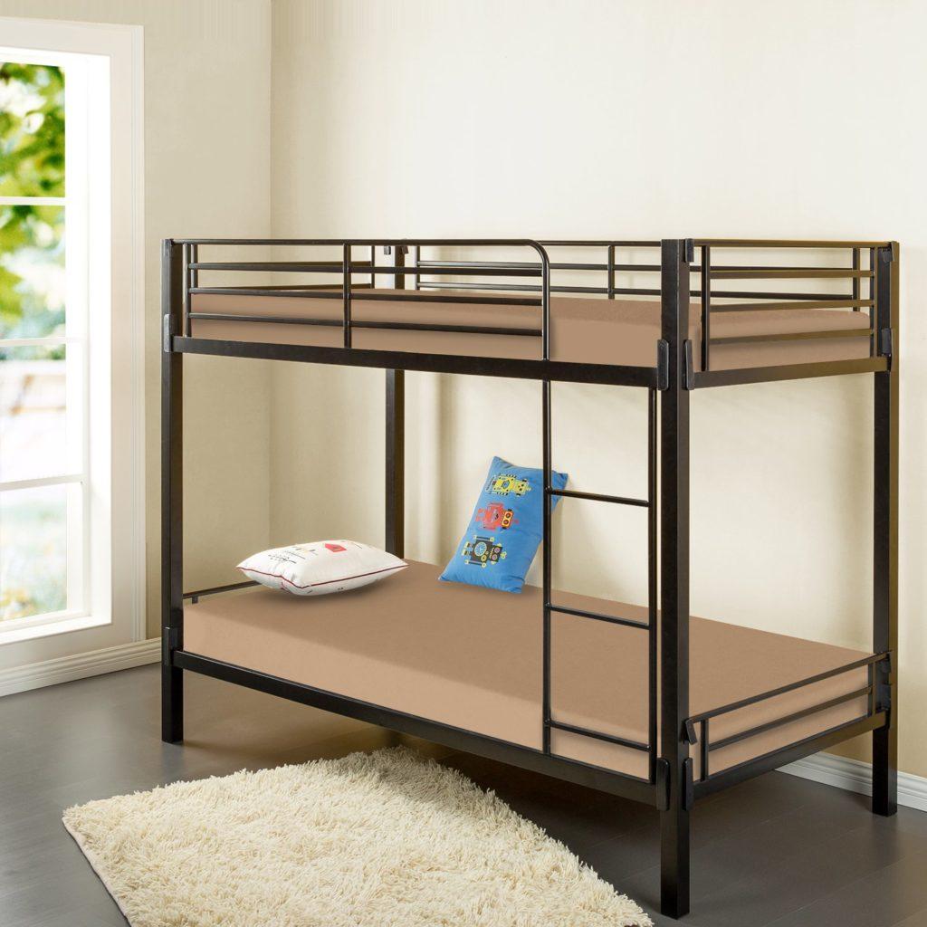 zinus bunk bed mattress