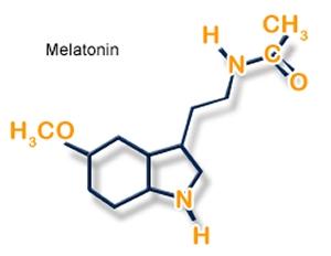 melatonin structure