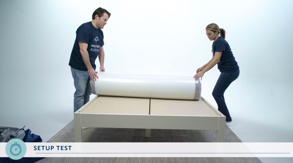 nectar mattress unboxing 2