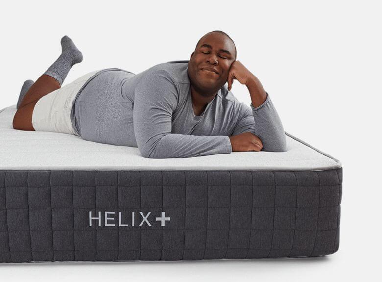 helix mattress hero