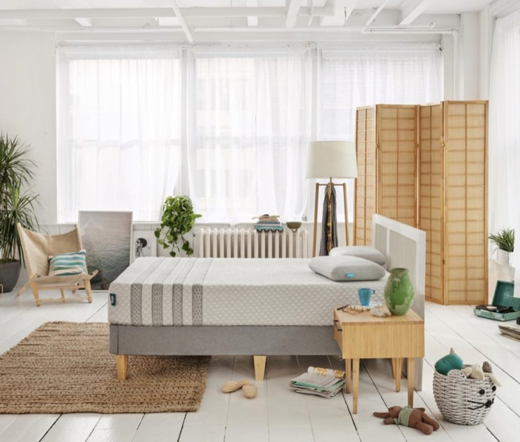 leesa hybrid bedroom