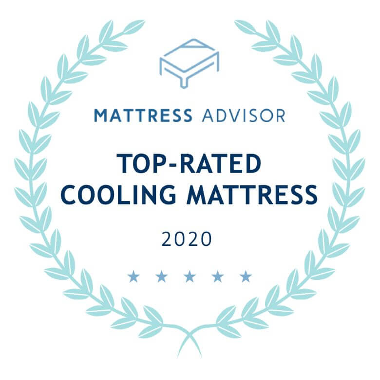 top cooling mattress badge