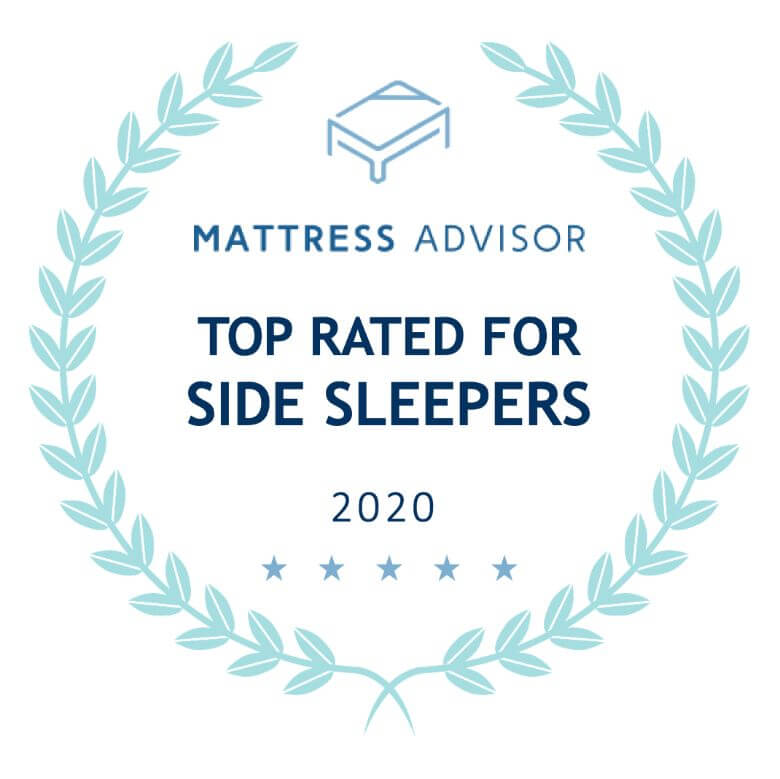 top rated for side sleepers badge