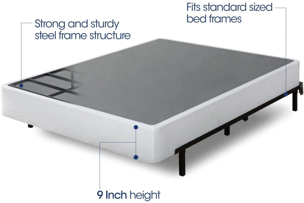 zinus smart box spring features