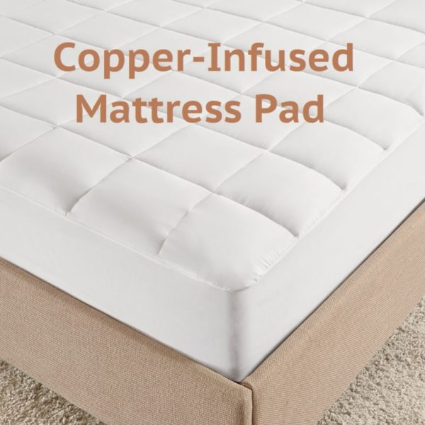 Copper-Infused Mattress Pad