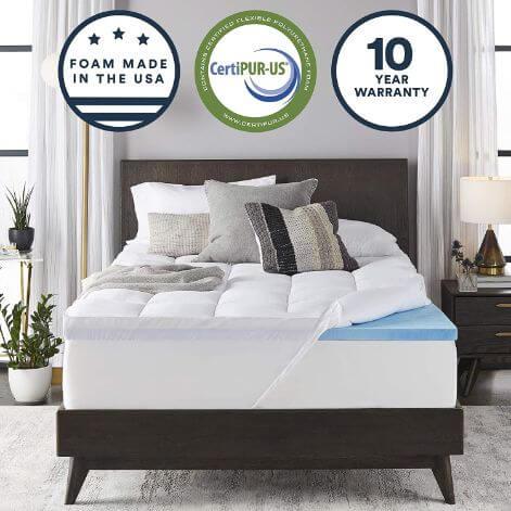 mattresstopperduallayer