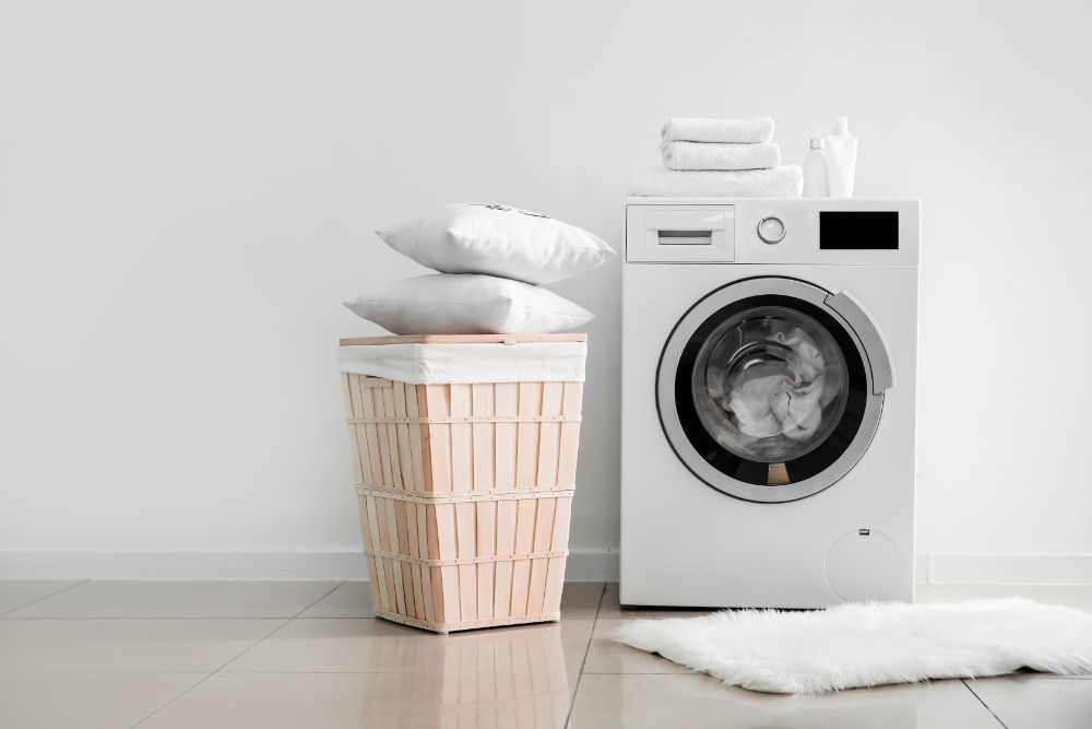 pillow washing machine
