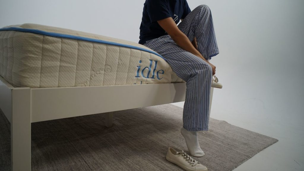 idle latex shoe test