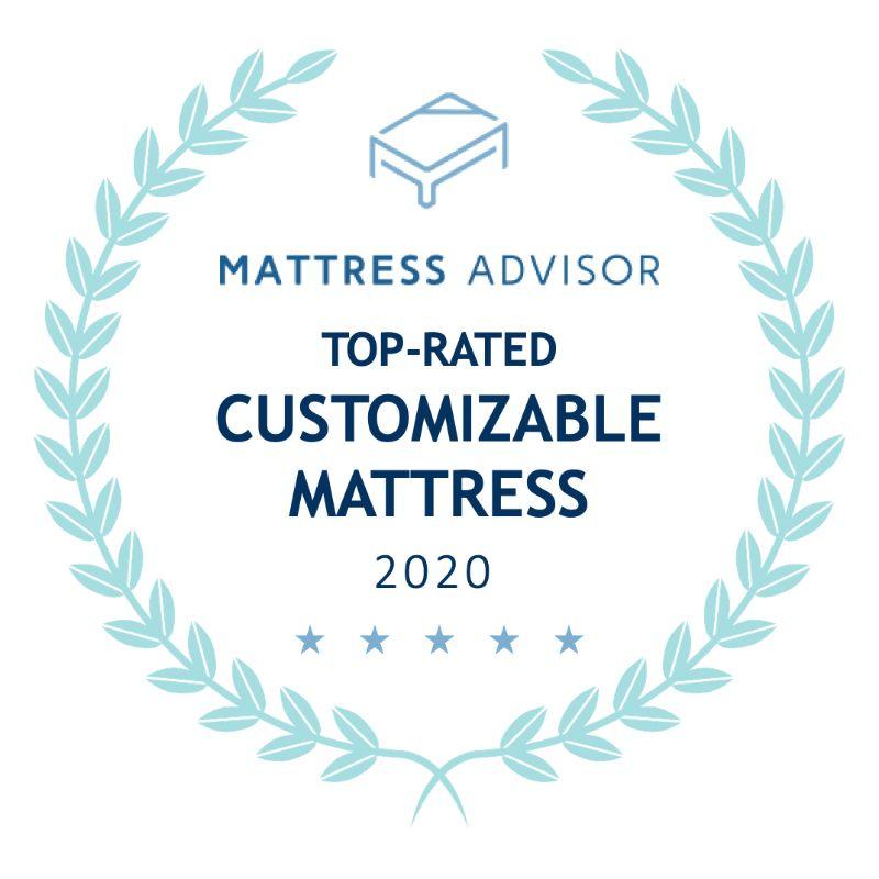 top customizable mattress badge