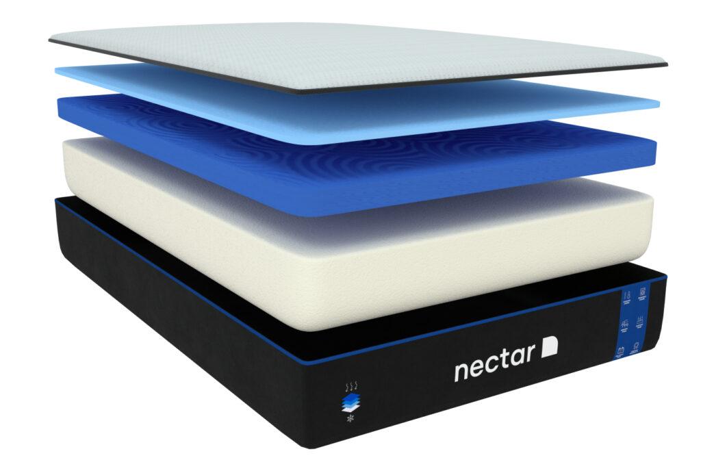 nectar matttress layers updated